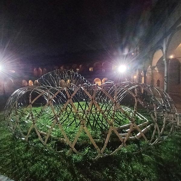 Bamboo Ring fronte Desing Week 2021 Milano